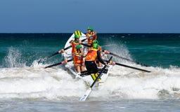 Competição australiana da liga dos remadores da ressaca Imagens de Stock Royalty Free
