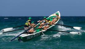 Competição australiana da liga dos remadores da ressaca Fotos de Stock Royalty Free