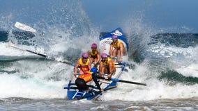 Competição australiana da liga dos remadores da ressaca Foto de Stock Royalty Free