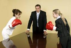 Competição corporativa Foto de Stock Royalty Free