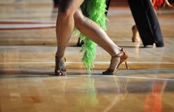 Competição da dança Fotografia de Stock Royalty Free