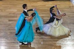 Competição da dança Fotos de Stock