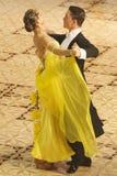 Competição da dança de salão de baile foto de stock