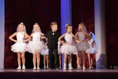 Competição da dança em Kremenchuk, Ucrânia Fotografia de Stock Royalty Free