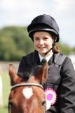 Competição da equitação Foto de Stock Royalty Free