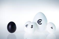 Competição da moeda Foto de Stock Royalty Free