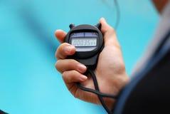 Competição da natação - pare o wat Fotografia de Stock Royalty Free