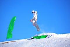 Competição da snowboarding Imagem de Stock