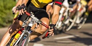 Competição de ciclagem Imagem de Stock