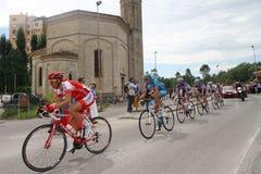 Competição de ciclagem do d'Italia do Giro Fotografia de Stock Royalty Free