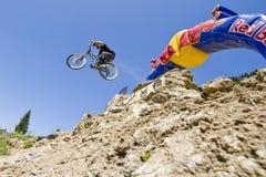 Competição de Freeride foto de stock royalty free