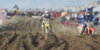 Competição de Motorcross Imagem de Stock Royalty Free