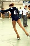 Competição de patinagem Fotos de Stock Royalty Free