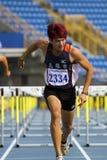Competição do atletismo Fotografia de Stock