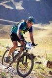 Competição do boke da montanha da aventura Fotografia de Stock