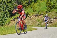 Competição do ciclismo da estrada Imagem de Stock Royalty Free