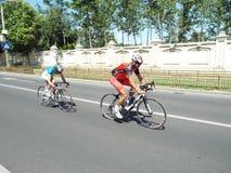 Competição do ciclismo em Bucareste Foto de Stock Royalty Free