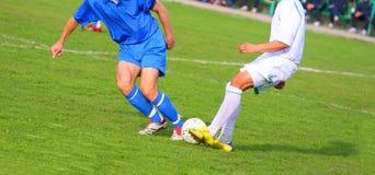 Competição do futebol Fotos de Stock