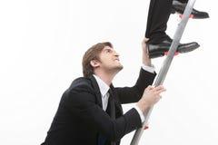 Competição do negócio. Imagens de Stock