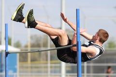 Competição do salto elevado Foto de Stock