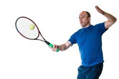 Competição do tênis Action fotos de stock royalty free