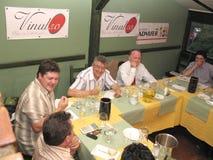 Competição do vinho Imagem de Stock Royalty Free