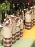 Competição do vinho Fotografia de Stock Royalty Free