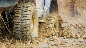 Competição experimental Offroad do carro Fotografia de Stock Royalty Free