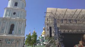 Competição 2017 - Kiev, Ucrânia da música de Eurovision Fotografia de Stock Royalty Free