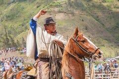 Competição latino do vaqueiro Fotos de Stock