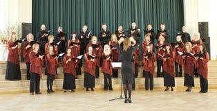 Competição local do coro Imagens de Stock Royalty Free