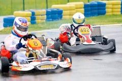 Competição nacional de karting 2010 Imagem de Stock