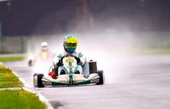 Competição nacional de karting organizada por Amckart fotografia de stock royalty free