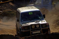 Competição Off-road Fotografia de Stock Royalty Free