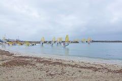 Competição Palma do windsurfe Fotos de Stock