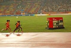Competição T11 de 5000m dos homens Fotografia de Stock