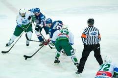 Competições do hóquei em gelo Fotos de Stock Royalty Free