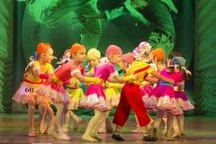 Competições na coreografia em Minsk, Bielorrússia foto de stock