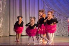 Competições na coreografia em Minsk, Bielorrússia Fotografia de Stock