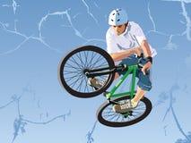 Competições no salto da sujeira. Fotos de Stock Royalty Free