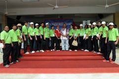 Competiam 2011 clássico do golfe de Tengku Muda Pahang Fotografia de Stock Royalty Free