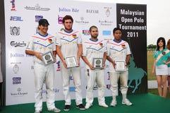 Competiam aberto 2011 do polo do Malaysian Fotos de Stock