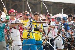 Competiam 2015 da classificação do Copo-mundo de Ásia Imagem de Stock Royalty Free