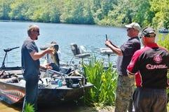Competiam 2015 da pesca no Long Island New York Foto de Stock