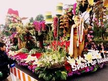 Competiam 2017 de Pasadena, Califórnia da parada das rosas: Dole Empresa do flutuador na área da cargo-parada * 2 de janeiro de 2 Foto de Stock Royalty Free