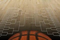 Competiam do basquetebol Fotos de Stock Royalty Free