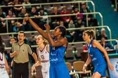 Competiam do basquetebol das meninas, Imagem de Stock