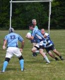 Competiam do rugby em New Hampshire central Imagens de Stock