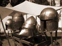 Competiam histórico Knightly fotografia de stock