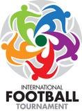 Competiam internacional do futebol Fotografia de Stock